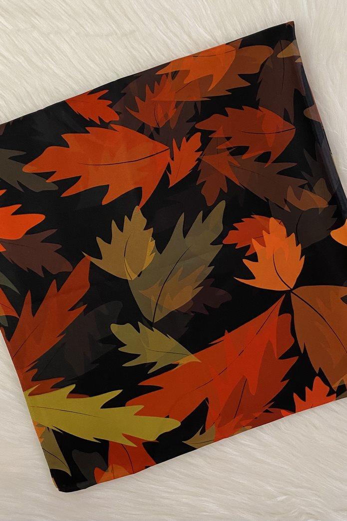 روسری کوچک - برگ پاییز
