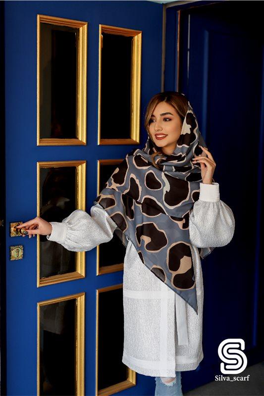 روسری نخی - طرح چیتا